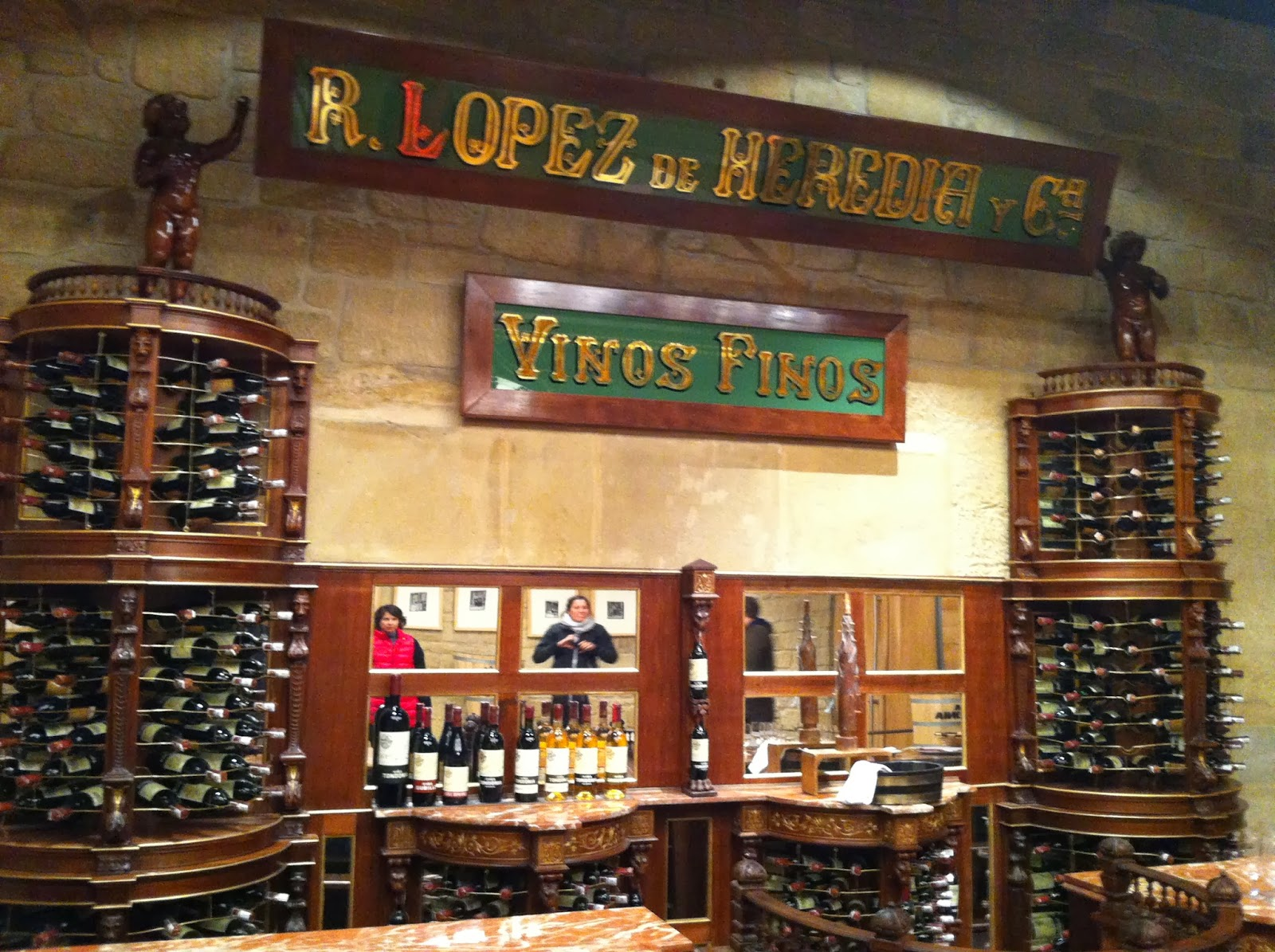 Lopez de Heredia Spain Tasting Room