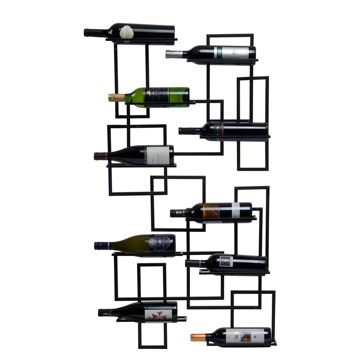 Geometric Wine Holders Art