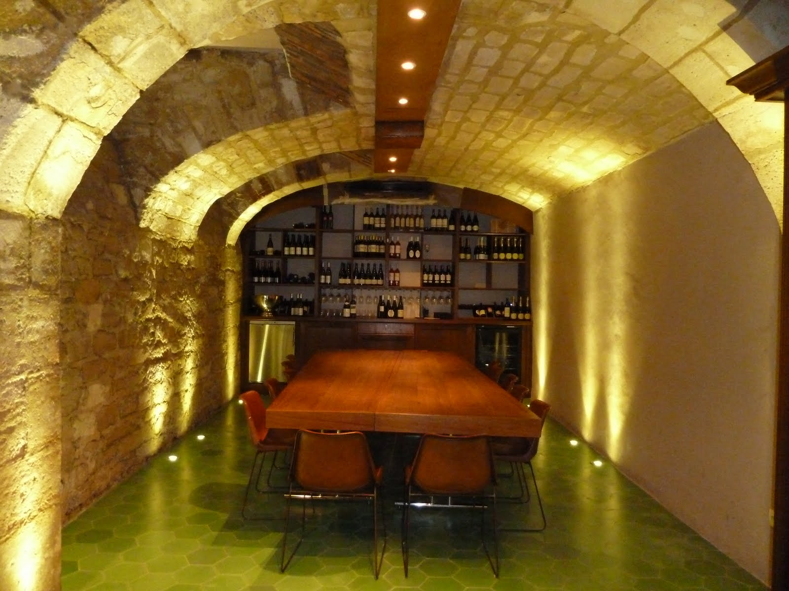 O Chateau, Paris, France Wine Tasting Room