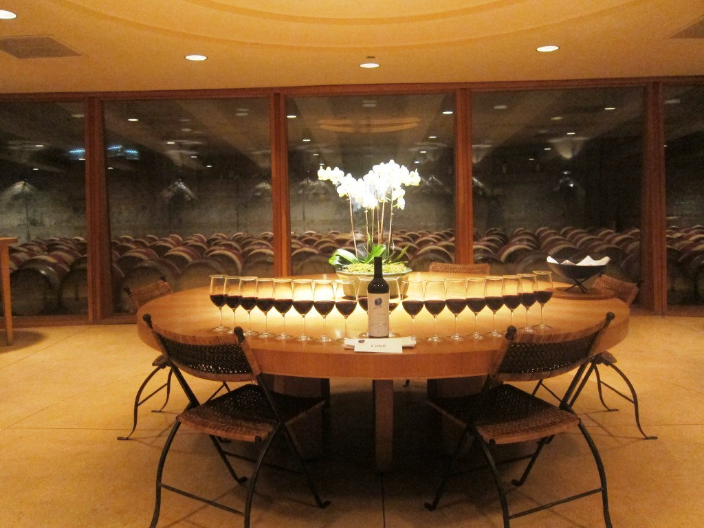 Opus One, Napa Valley, California Wine Tasting Room